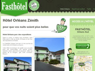 Fasth tel h tel proche du z nith d 39 orl ans - Hotel pas chere orleans ...