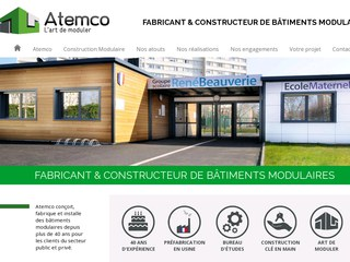 construction batiments modulaires