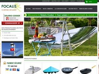 Focalis, spécialiste de la cuisson solaire