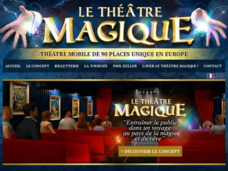 spectacle magie itinérant