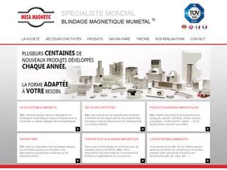 Meca Magnetic, specialiste mondial du blindage magnetique mumetal®