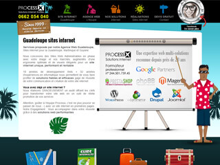 creation site internet guadeloupe