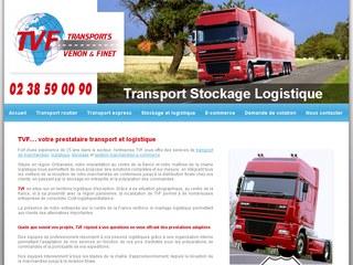 Transport Stockage TVF, prestataire transport et logistique