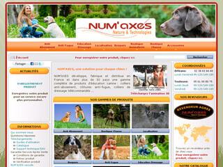 NUM'AXES, spécialiste des produits d'éducation canine
