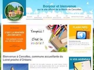 Site officiel de la mairie de Cercottes