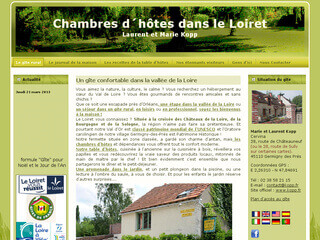 Chambres d´hôtes dans le Loiret
