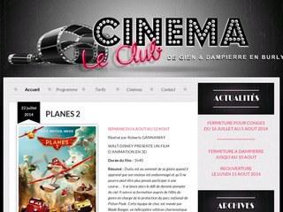 Programmes cinéma Le Club à Gien - Dampierre en Burly