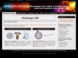 Eclairage Led parcs d'attractions