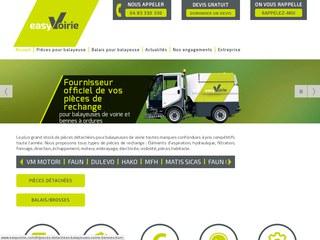 easyVoirie, spécialiste dans la vente de pièces de rechange pour les véhicules de voirie