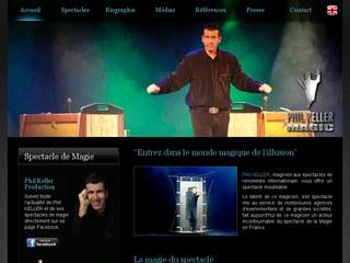 Spectacle de magie, magicien, spectacle de magie magicien : magie professionnelle Phil Keller,