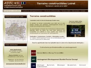 Terrains constructibles Loiret