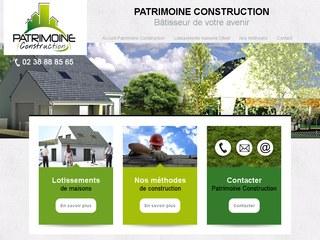 Patrimoine Construction, construction maisons à Olivet