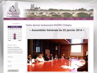 ANDRH, l'Association Nationale des DRH d'Orléans