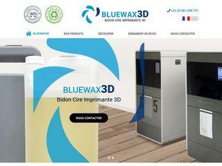bidon cire imprimante 3D