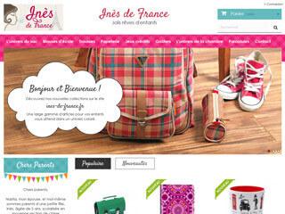 Inès de France : fournitures scolaires, cartables