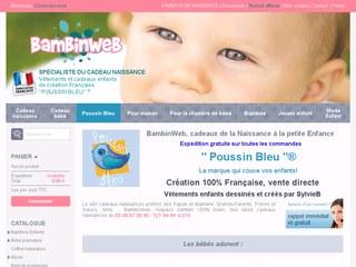 Bambinweb : cape bapteme, doudou personnalisé, cadeau naissance garçon