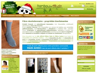 chaussette bambou