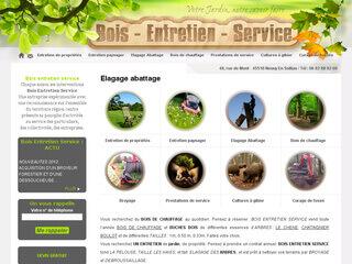 Bois Entretien Service, débroussaillage et abattage d'arbre en région Centre