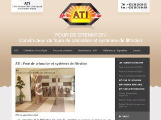 ATI, four de crémation, four crématoire, systèmes de filtration