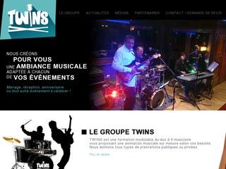 Twins, groupe de musique sur Paris pour animation, mariage, etc...