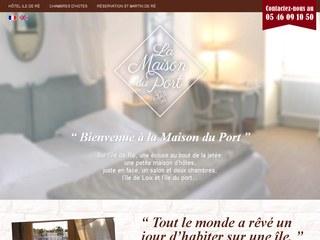 hotel du port ile de ré, hotel saint martin de ré, hotel ile de ré, chambre d'hote ile de re port