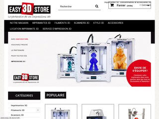 Easy 3D Store, le partenaire de vos impressions 3D