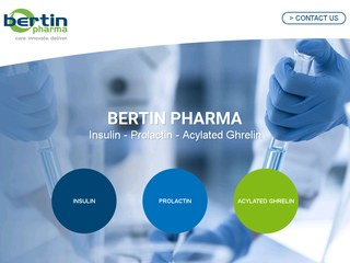 Bertin pharma : Insulin - Prolactin - Acylated Ghrelin