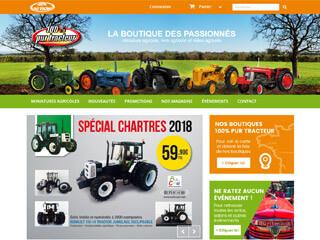 100% Pur Tracteur, la boutique des miniatures agricoles