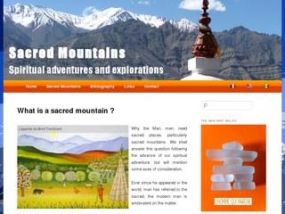 montagnes sacrees