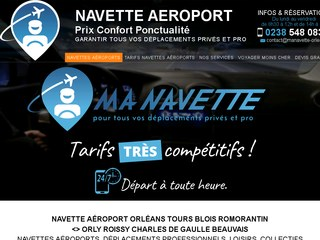 navette aeroport orleans