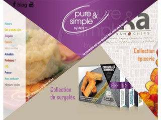 pure&simple, by ACE commercialise des fruits et légumes exotiques
