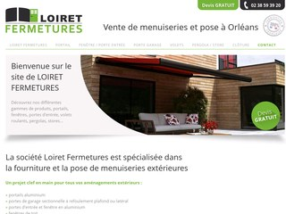 Loiret Fermeture, vente et pose menuiseries à Orléans