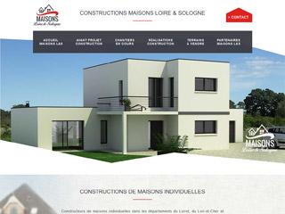 Maisons Loire&Sologne : constructeur maison Orleans, constructeur maisons sur mesure Orléans